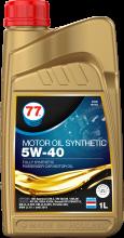 Motor Oil Synthetic 5W-40