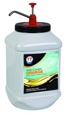 77 HandCleaner Orange