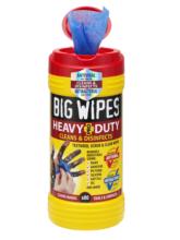 2420 Big Wipes Heavy-Duty PRO80 Open Antiviral Shield